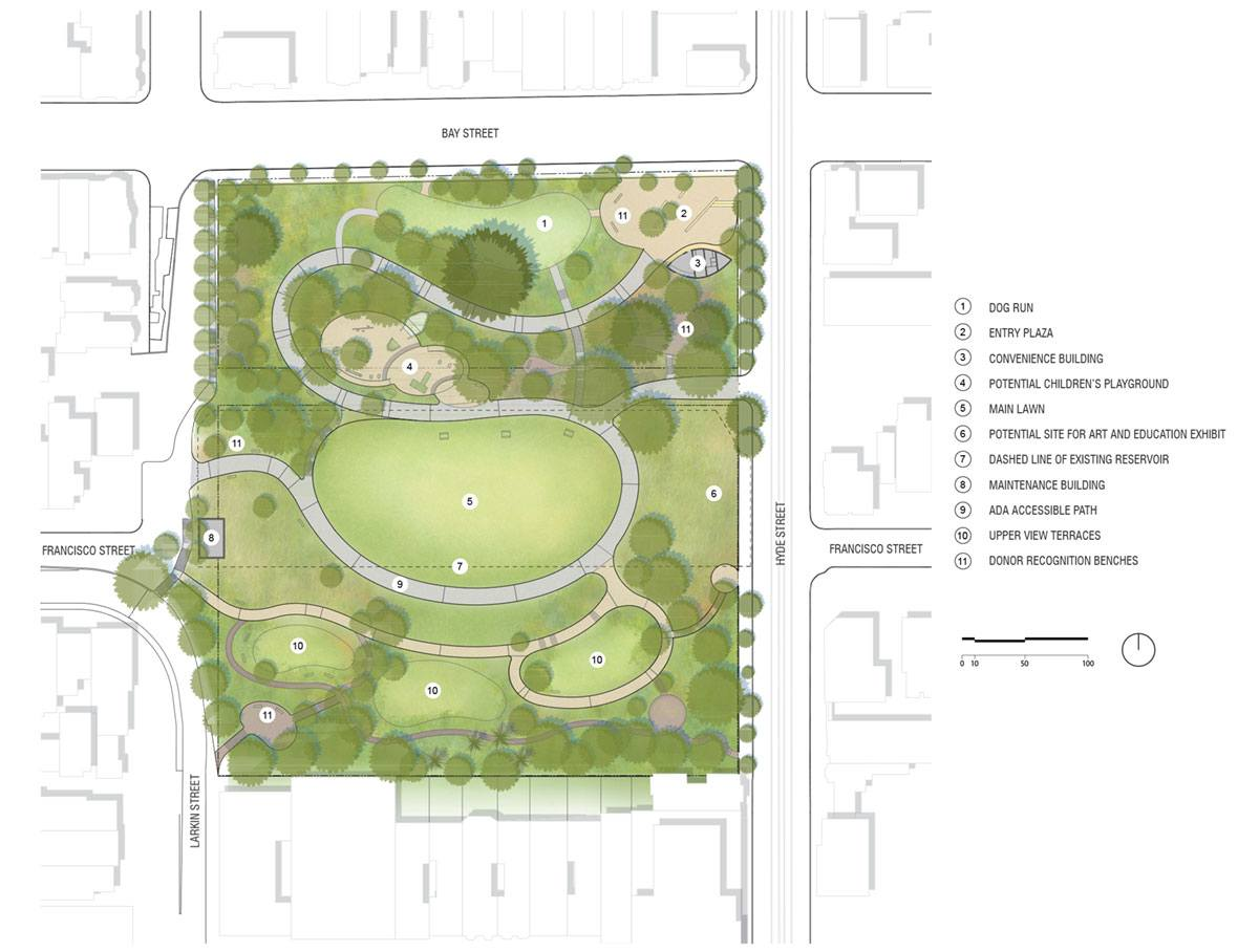 450 Architects Landscape Plan